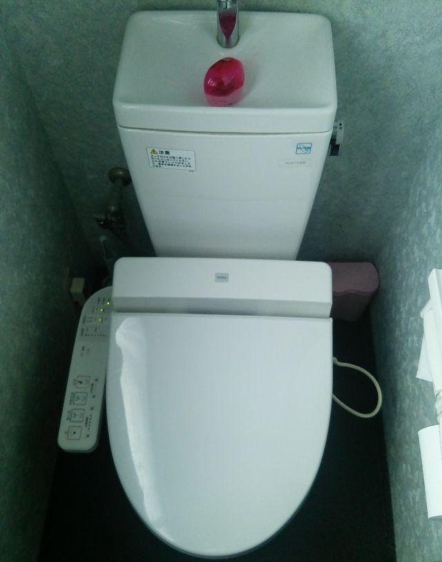 手仕事らぁめん八(駅南店)のトイレ
