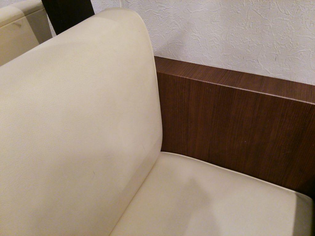 テーブル席のソファ(吉風フレスポ赤道店)