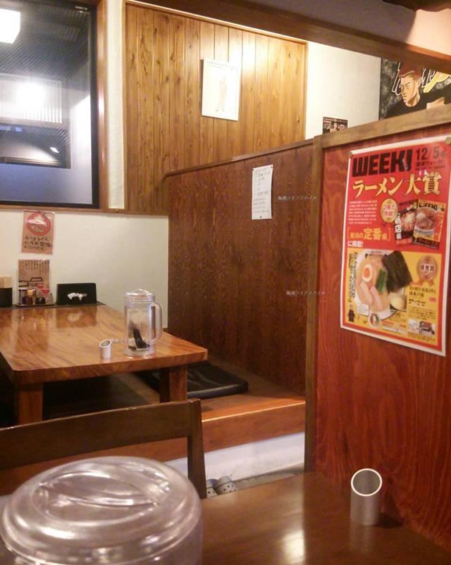 OGIKAWA山木戸店のテーブル席
