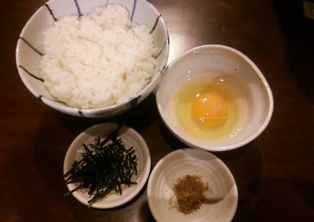 OGIKAWA山木戸店のTKG(卵かけごはん)