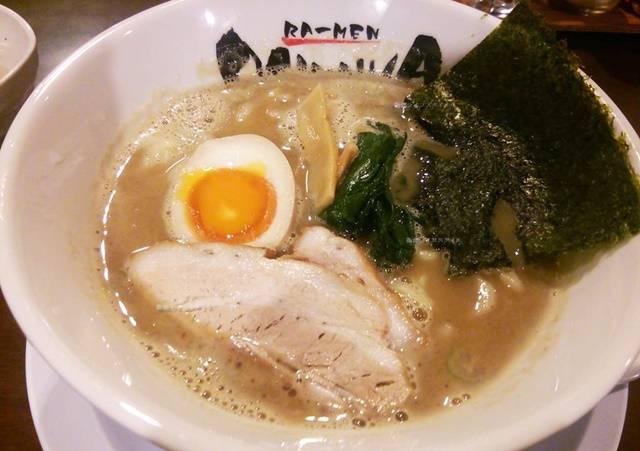 OGIKAWA山木戸店の豚骨醤油ラーメン