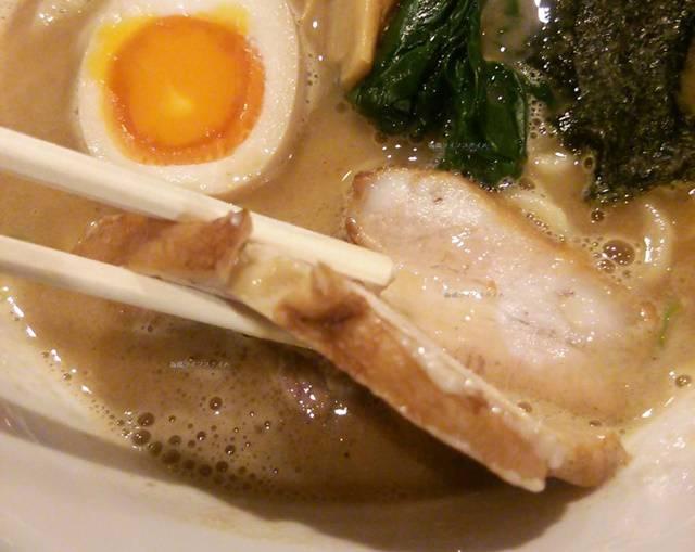 OGIKAWA山木戸店の豚骨しょうゆのチャーシュー