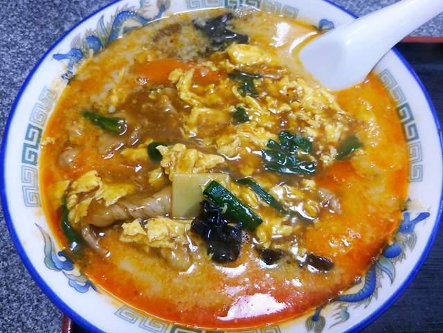 満里の酸辣担々麺