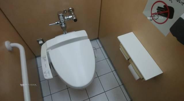 ほんぽーとのトイレの様子
