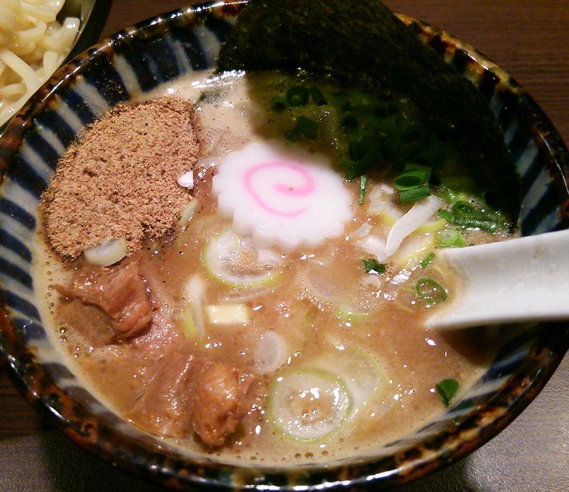 我駆のつけ麺のスープ