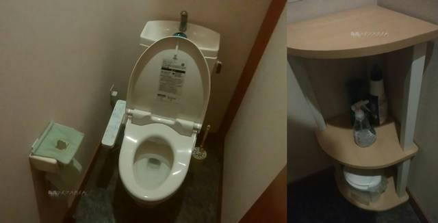 しゃがら青山店のトイレ