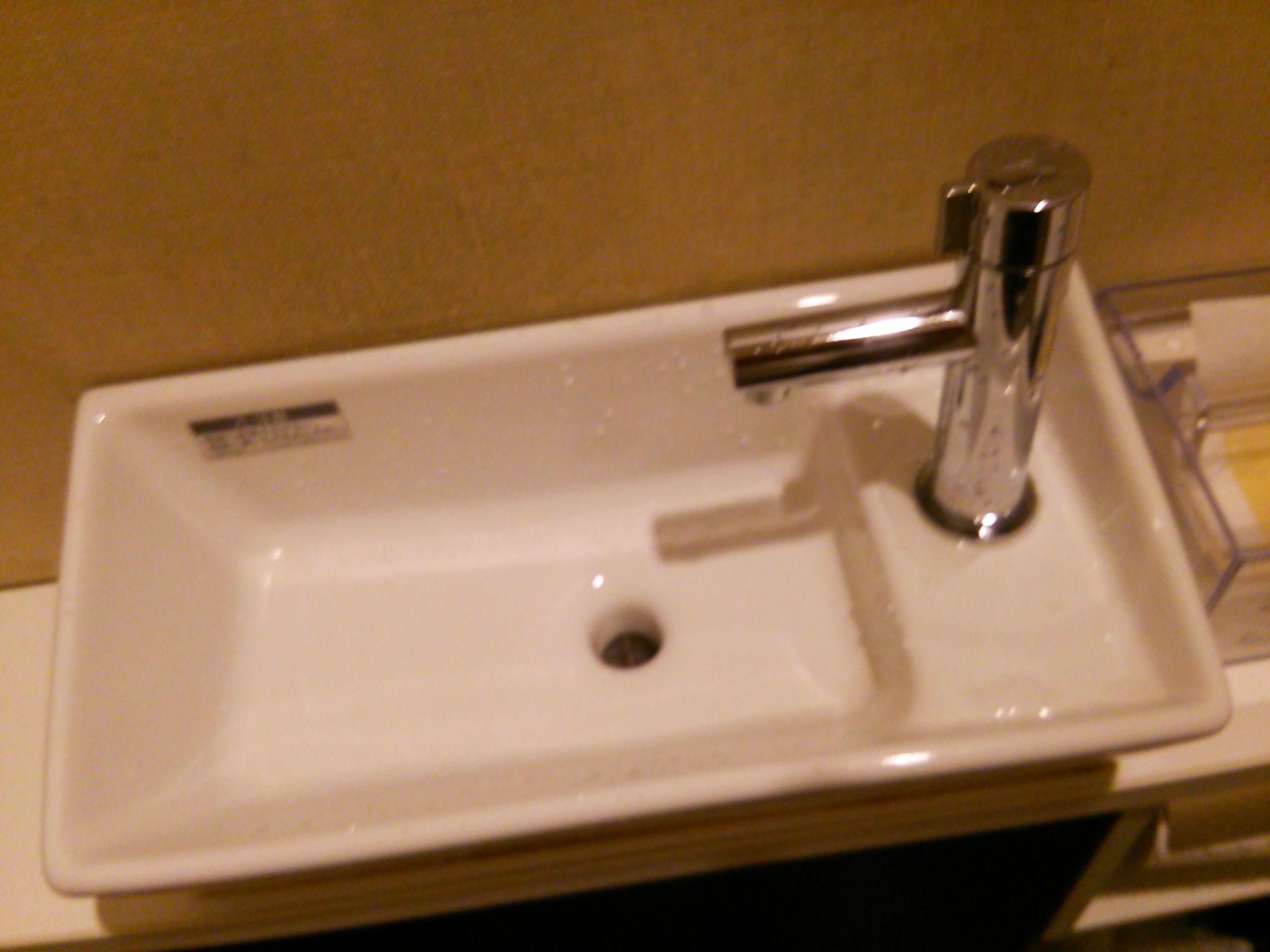 中村屋の手洗い場