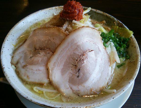 吉風(新大前店)の味噌ラーメン