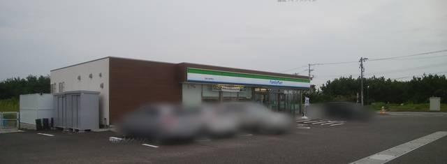 ファミリーマート新潟上新栄町店の外観
