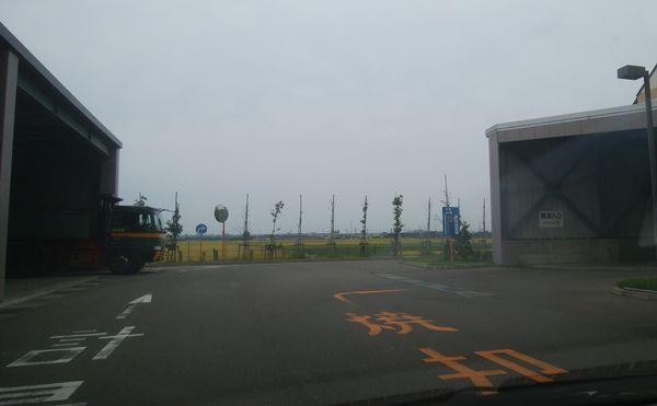 新田清掃センターの焼却場の入り口