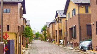住宅街の小さい画像
