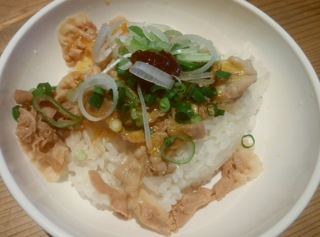 麺家 味勲拉のミニ豚バラ丼
