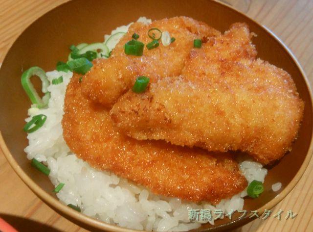 麺家 味勲拉のミニチキンたれかつ丼