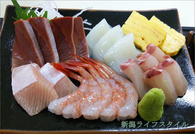 地魚食堂 瓢の刺身定食の刺身