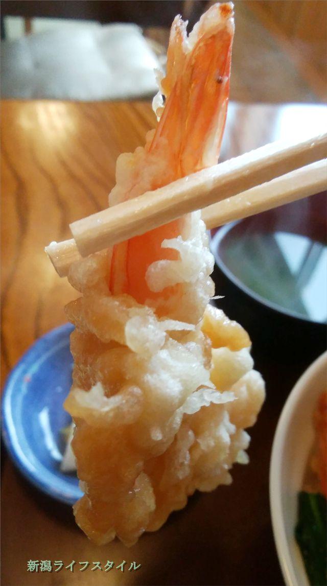 太和良食堂のえび天ぷらのアップその2