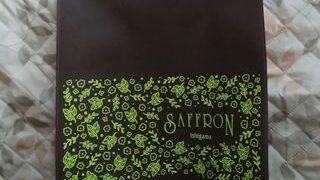 サフラン女池店のオリジナルエコバッグのアップの画像