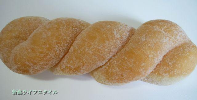 サフラン女池店のツイストドーナツ