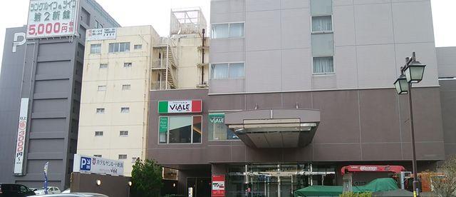 じゅらくステイ新潟の向かいのホテルサンルート新潟とシングルイン第2新館