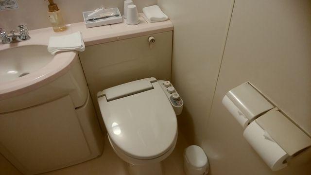 じゅらくステイ新潟のトイレ