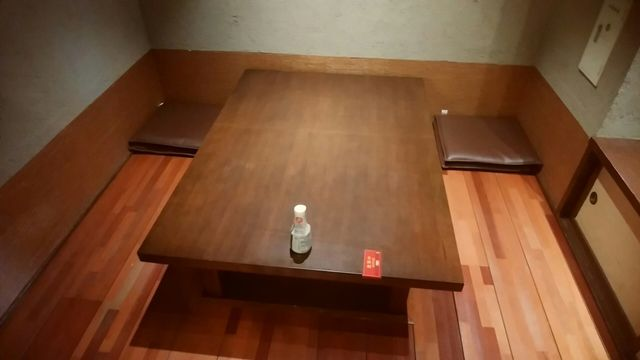 じゅらくステイ新潟の半個室席