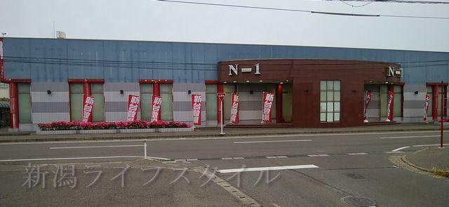 からあげ専門店とりっこ坂井店の向かいのN-1