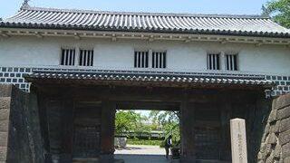 新発田城の正門のアップの小さい画像