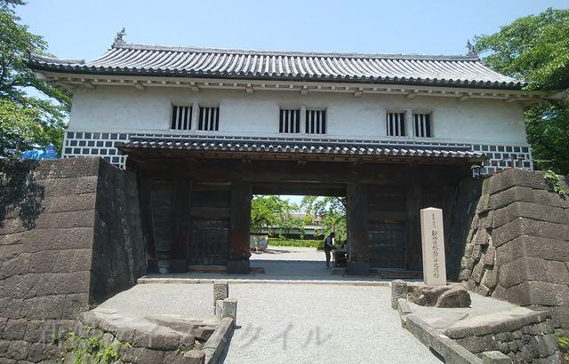 新発田城の表門