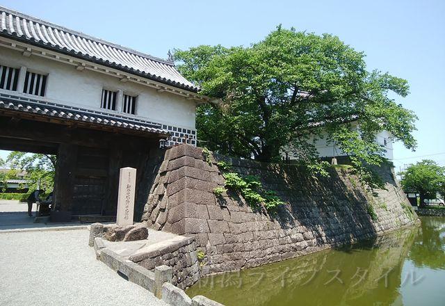 新発田城の旧二ノ丸隅櫓