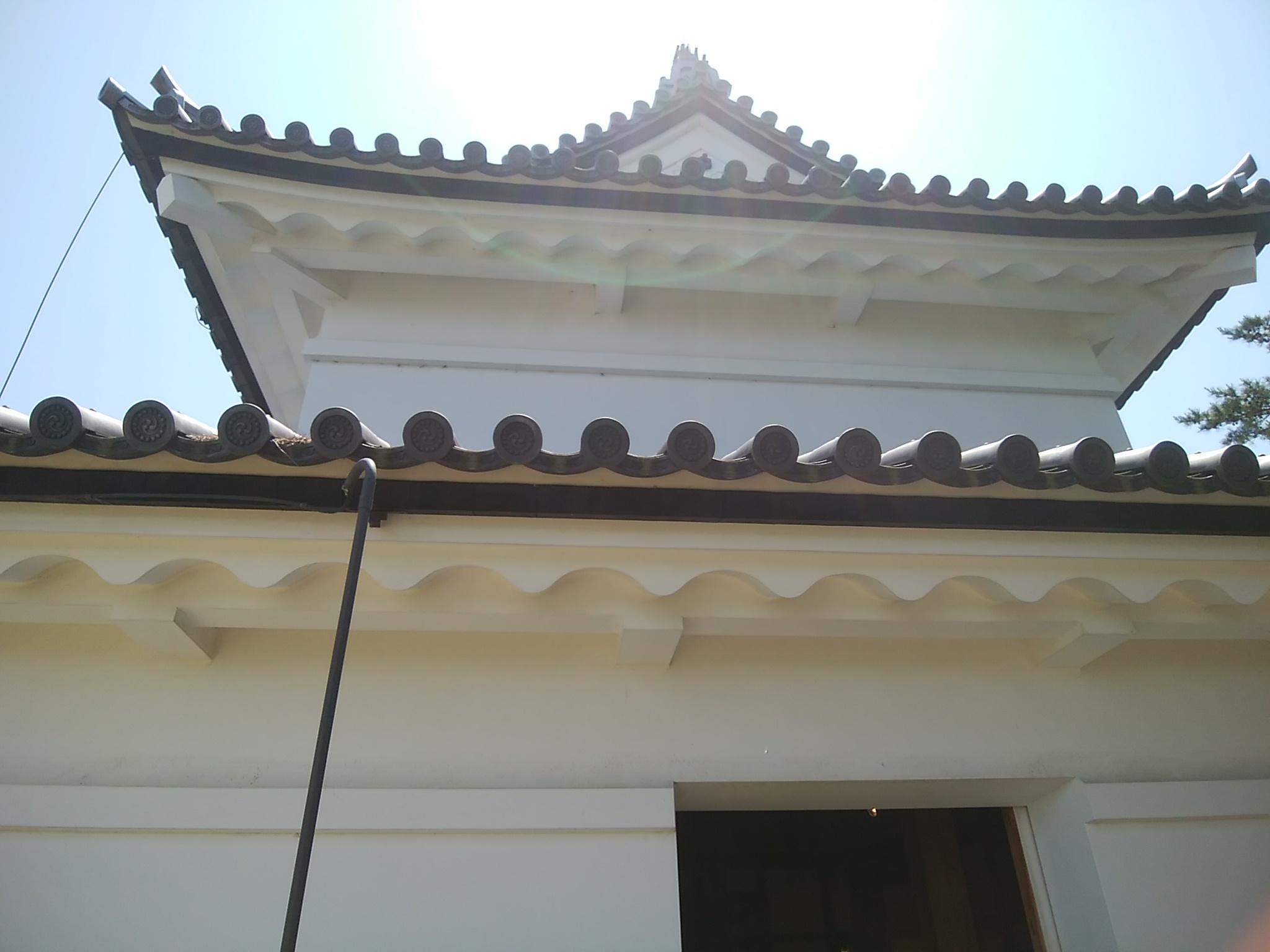旧二ノ丸隅櫓の外観。
