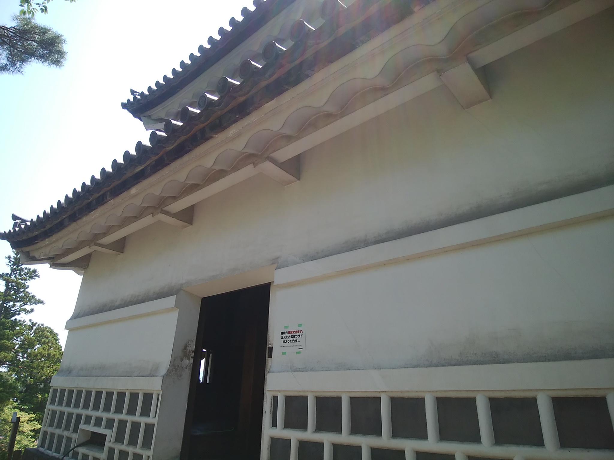 旧二ノ丸隅櫓の外観その2