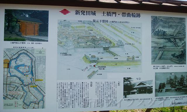 新発田城の当時を表した図