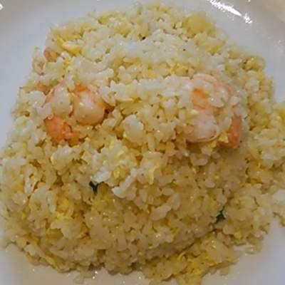 四川飯店村上のえび炒飯