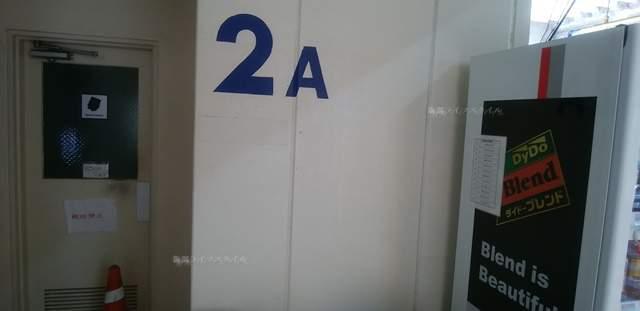 パラカ万代シティ駐車場のトイレと自販機
