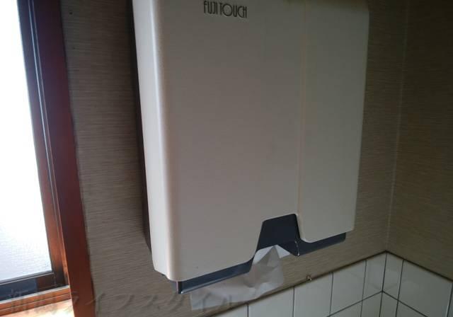 小さな中華屋さん薫のトイレのペーパータオル