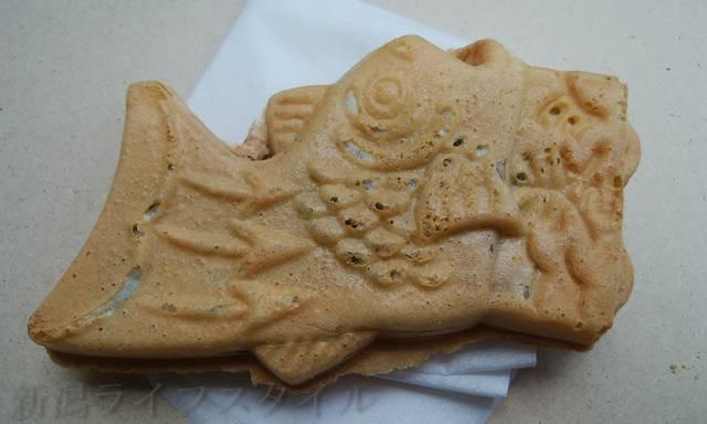 鯛車焼一成の鯛車焼き。あんこ