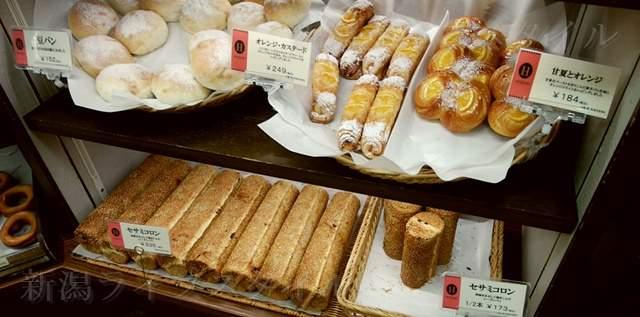 エディアールに陳列されたパンその6