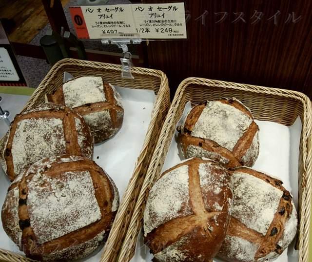 エディアールに陳列されたパンその20