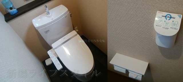 松壱家のトイレの様子