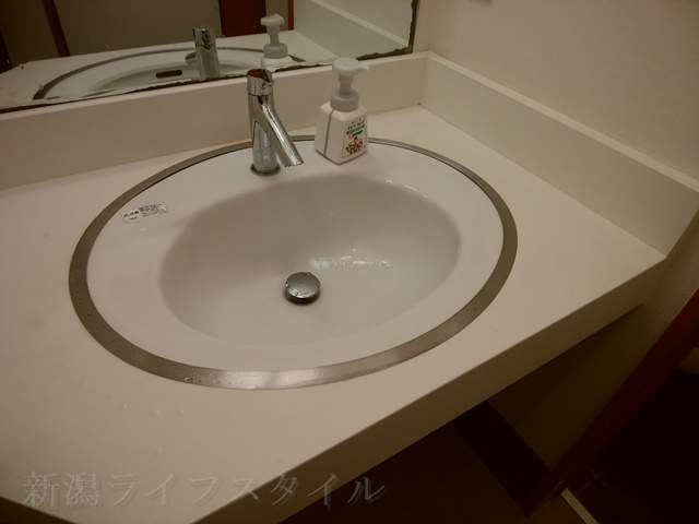 フタツメのトイレの手洗い場