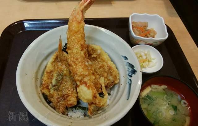 中央食堂の漁師天丼
