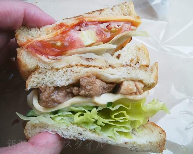 ブーランジェ・ルクールのサンドイッチ