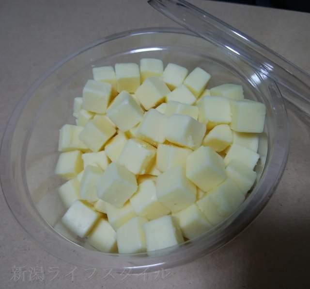 リッツの角切りチーズ