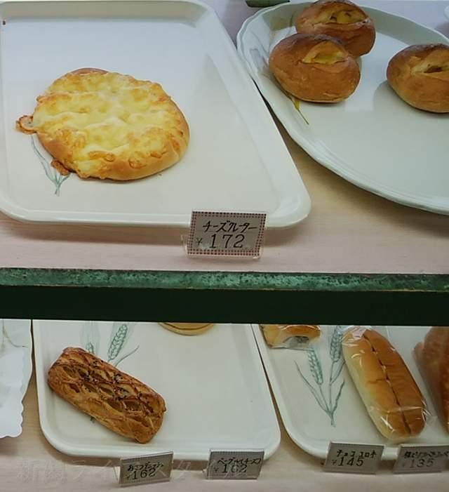 リッツのコッペパンやチーズクレーター