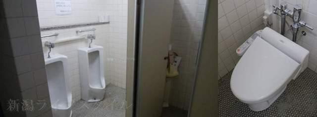 新潟市南地区センターの男子トイレ