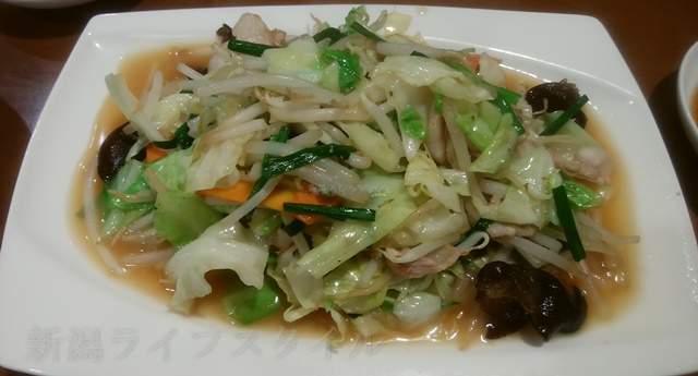 王華楼の野菜炒め