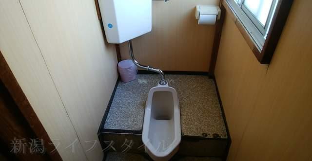 柿屋のトイレ