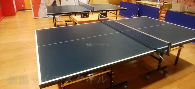 タイトーFステーション新潟西店の卓球台