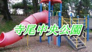寺尾中央公園の滑り台のアップ