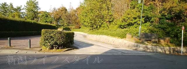 濁川公園の入口
