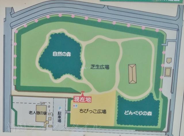 舞平公園の地図